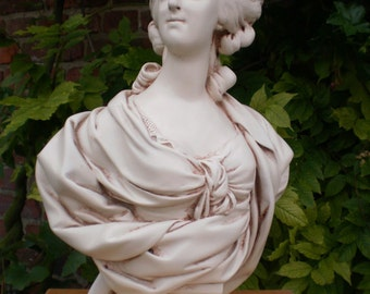 """High Bust of Marie-Antoinette d'Autriche, Queen of France (16.1"""")"""