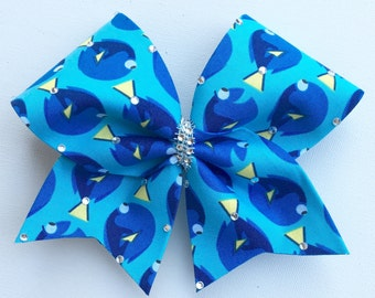 Blue Dory Cheer Bow