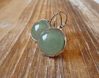 Aventurine Gemstone Earrings