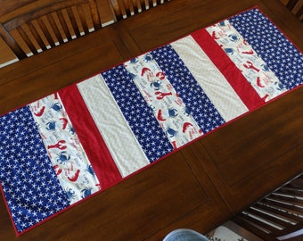 Nautical Quilted Table Runner