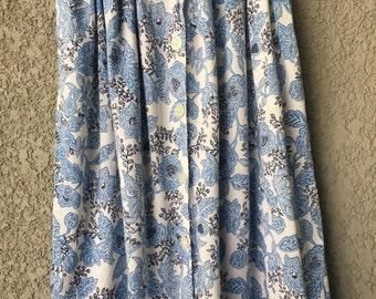 Blue floral Jones New york skirt
