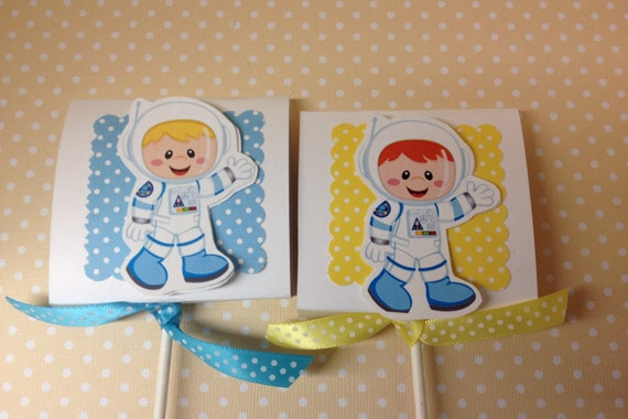 Astronaut Space Alien Rocketship Party Lollipop Favors ...