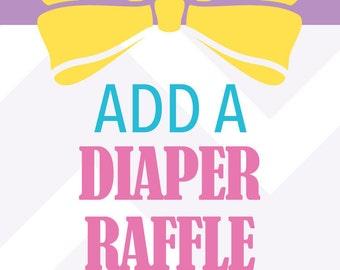 Diaper Raffle Ticket Add-On