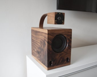 LEV2 Handmade HiFi Bookshelf Speakers (pair) - free shipping!