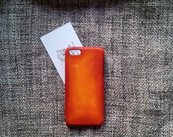 iPhone 5c leather case ''Old BritTan''