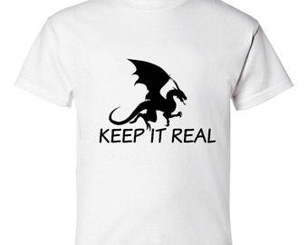 Keep it Real Boys T-shirt