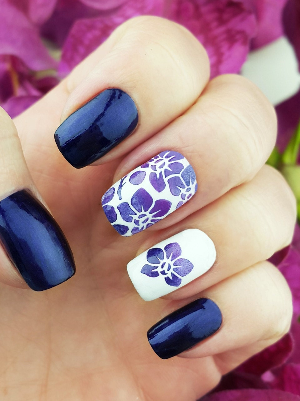 Orchids Nail Art Stencils Incredible Nail Art Vinyls By
