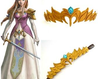 Princess Zelda  Crown , Twilight Princess ,The Legend Of Zelda Headpiece