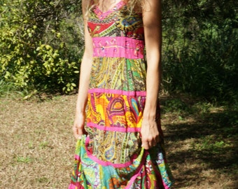 Colourful Summer Cotton Dresses