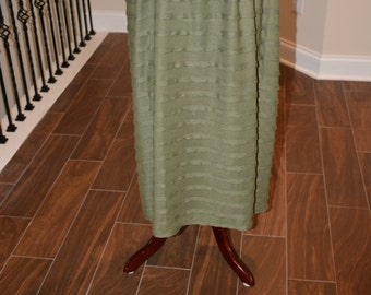 Maxi Olive Ruflle Skirt