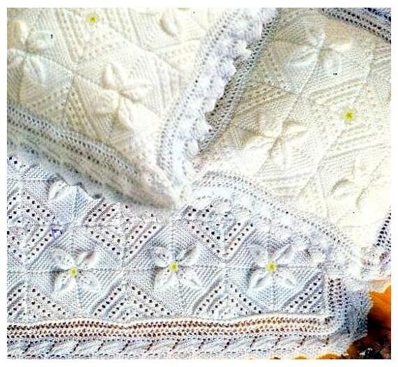 Vintage Leaf Knitting Pattern : Instant PDF Download Vintage Knitting Pattern to make Leaf