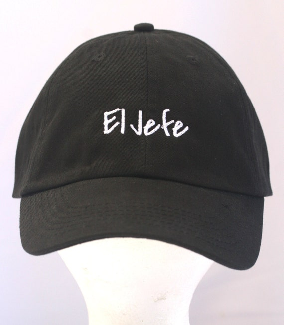 El Jefe - Polo Style Ball Cap (available in different colors)