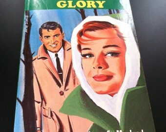 Harlequin Romance / Vintage Paperback The Tender Glory #1037 45 cents by Jean S. Macleod 1965