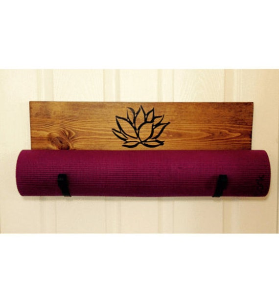 Home And Living Handmade Yoga Mat Holder Yoga Rack By