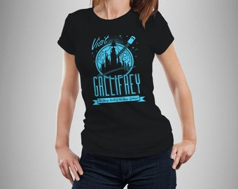 "Doctor Who ""Visit Gallifrey"" Women's T-Shirt"