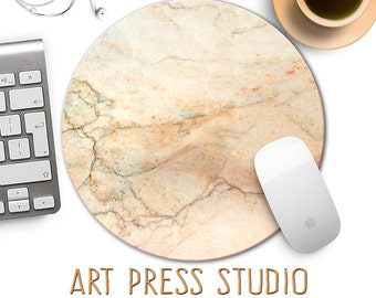 Marble Mouse Pad, Marble Stone Mouse Pad, Mouse Mat, Veined Marble Mousepad, Boho Chic Mouse Pad, Mouse Pad for Office Desk, Marble Mousepad