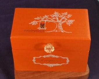 Owl Recipe Box