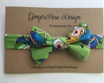 Adventure Time Bow Tie; Finn and Jake Bow Tie; Cartoon Network Bow Tie; Boy Bow Tie; Toddler Bow Tie; Baby Bow Tie; Adjustable Bow Tie