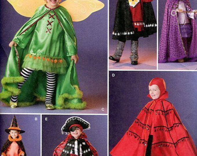 FREE US SHIP Sewing Pattern Simplicity 2505 Boy Girl Pretend Play Costume 2010 Halloween Pirate Renaissance Medieval Fairy Devil Witch 3/8