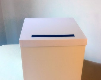 Mail For Wedding Gift Contribution : DIY White Deluxe Wedding Card Box 12 12 12