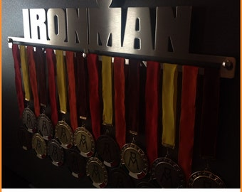 IRONMAN | Ironman Medal Display, Ironman Medal Hangers, Ironman Medal Holder, Ironman Medal Display Rack