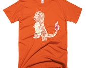 Monster #004 Silhouette T-Shirt