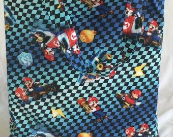 Mario Kart Fabric Tote Bag