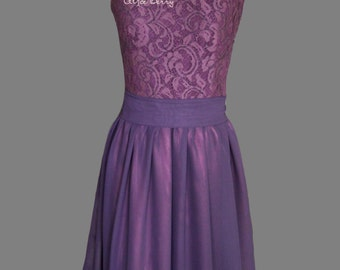 Lace dark purple bridesmaid dress Plum bridesmaid dress Eggplant bridesmaid dress Dark purple dress Plum dress lace Eggplant dress lace