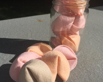 Hannah's Felt Fortune Cookies