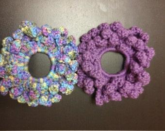 Handmade PuffyCrochet Scrunchie