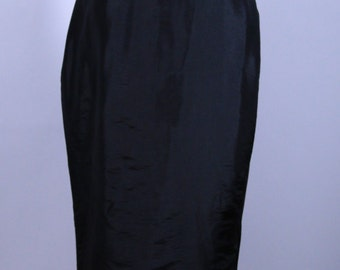 Free Shipping Amazing Red Carpet Black Gown with Train Size Small/Medium