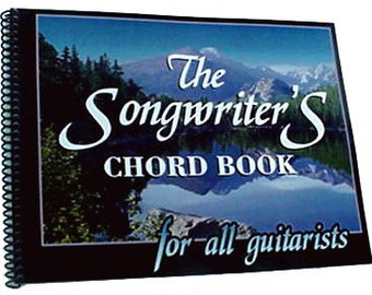 The Songwriters Chord Book for all guitarists - digital download