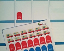 NEW!!! Mail Stickers for your Planner, Set of 77!