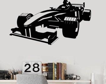 Wall Art Mural Carting Car Racing Guaranteed Quality Decor 2340