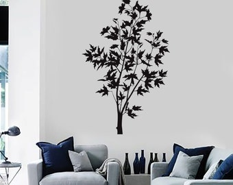 Wall Vinyl Decal Tree Branch Nature Bedroom Guaranteed Quality Decor 2088di