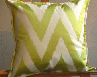 16x16 Lime Green and Cream