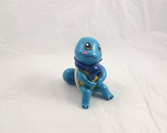pokemon, Squirtle , clay sculpture
