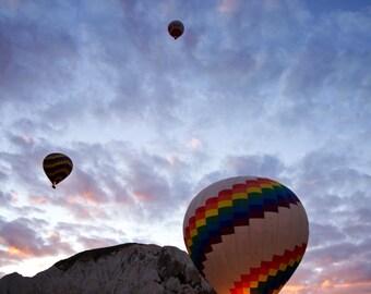 Cappadocia Photography, Hot Air Balloon Photography, Sunrise Photography, Turkey Photography, Print on Styrene