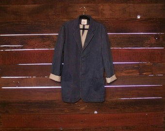 Japanese Blazer Coat Vintage - Blue