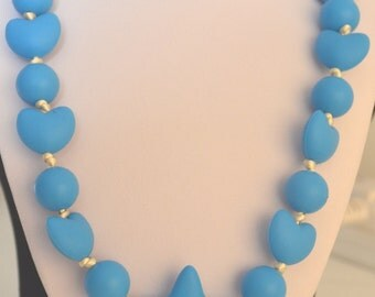 Daniel bold and blue necklace