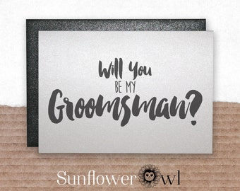 Will you be my groomsman best man card from groom engagement ring bearer wedding party invitation for wedding bachelor party