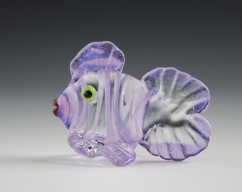 Dark Pink Fish Figurine