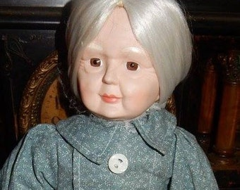 Haunted Doll Story with vintage Porcelain Doll....