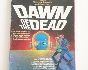 1978 Original Dawn of the Dead Board Game