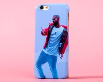 Drake hotline bling illustration - iPhone 7 case, samsung s7 case, iphone 7 plus case, iphone se case 1P003B
