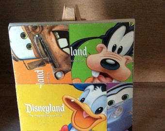 Disneyland Decorative Tile, Disneyland Tickets on Tile
