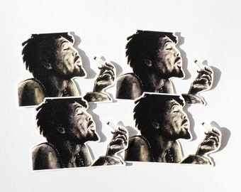 Bob Marley Sticker Illustration