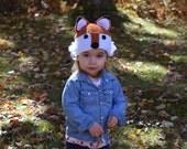 Toddler Fox Hat, Child Fox Hat, Toddler Fox Photo Prop, Child Fox Photo Prop, Fox Winter Hat, Kid Fox Hat, Boy Fox Hat, Girl Fox Hat