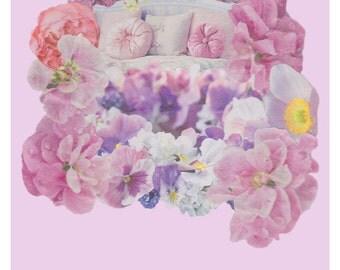 Flowers, dreamy, nursery, bedroom, pink, summer