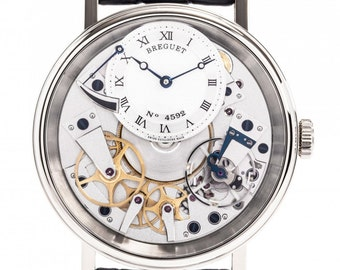 Breguet Tradition White Gold Manual Mens Watch